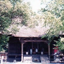 竹林寺・本堂