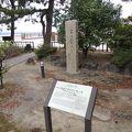 写真:高浜虚子の句碑