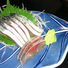 屋久島☆首折れサバのお刺身が絶品