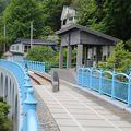 写真:幻の大間鉄道アーチ橋メモリアルロード