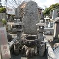 写真:安田作兵衛の墓