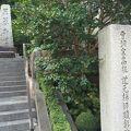 写真:道元禅師顕彰碑