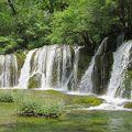 写真:九寨溝箭竹海瀑布