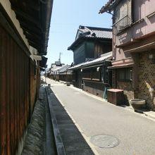 旧家の街並み