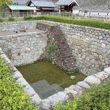 大井戸の遺構