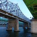 写真:漢江鉄橋