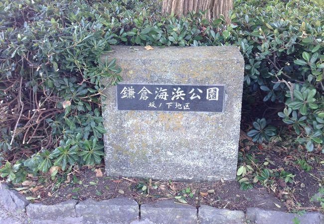 鎌倉海浜公園坂ノ下地区