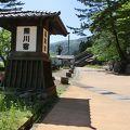 写真:熊川宿