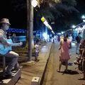 写真:チャンティエン橋 ライトアップ & 夜市