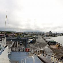 ポートタワー セリオン 新日本海フェリーより