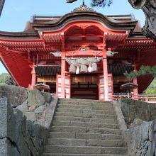 神の宮の拝殿