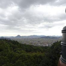 本宮からの景色