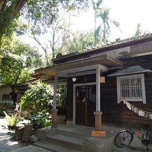 カフェにもなっている古い日本家屋