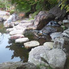林泉園の飛石