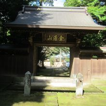 早雲寺の惣門
