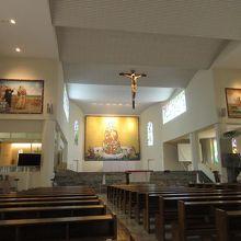 細川忠興邸宅跡に建つ大聖堂。
