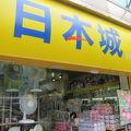 写真:日本城