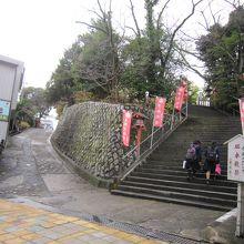 3東照宮への石段