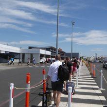 タスマニアへの入口の空港