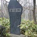写真:栗林加寿子の歌碑