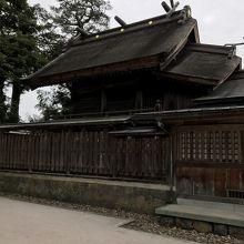 八重垣神社、本殿。