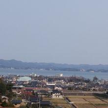 宍道湖SAから見た景色です