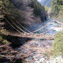 かずら橋です。