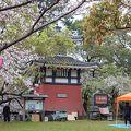 写真:勝山公園 - 白洲灯台岩松翁記念塔