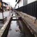 写真:瀬戸川と白壁土蔵街