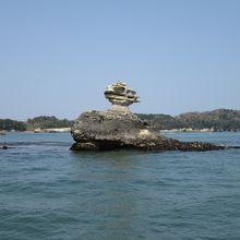 仁王島です。