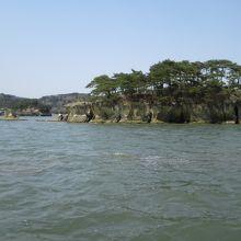 島の風景です。
