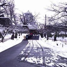 冬の時期の入り口
