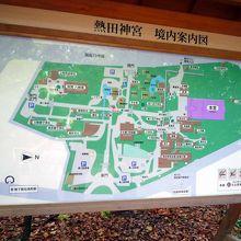 境内案内地図