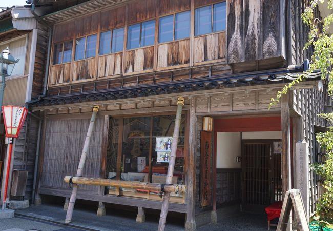 金沢市西茶屋資料館