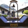写真:旅立ちの鐘 幸福の泉