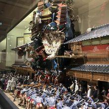 博多祇園山笠の写真。