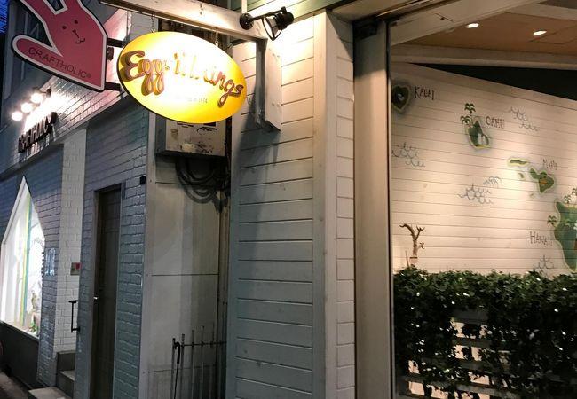 エッグスンシングス 心斎橋店