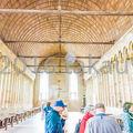 写真:モンサンミッシェル修道院 食事室