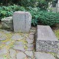 写真:近衛歩兵第一連隊跡記念碑
