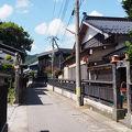 写真:安善小路 (黒塀通り)