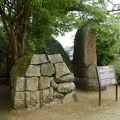 写真:岡山城 石垣