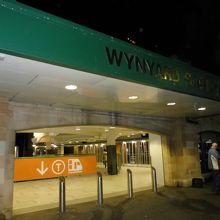 SYDNEY・CITYから北に行くバスターミナル駅