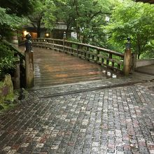 【こおろぎ橋】レトロな雰囲気の橋