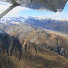 マウントクックを空から眺める素晴らしい経験