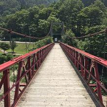神の岩橋という名のつり橋