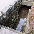 写真:金沢城惣構跡 (西内惣構跡尾山神社前遺構)