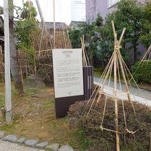 金沢の足軽は一戸建てだったのです。