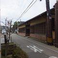 写真:旧加賀藩士高田家跡