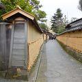 写真:長町武家屋敷跡土塀