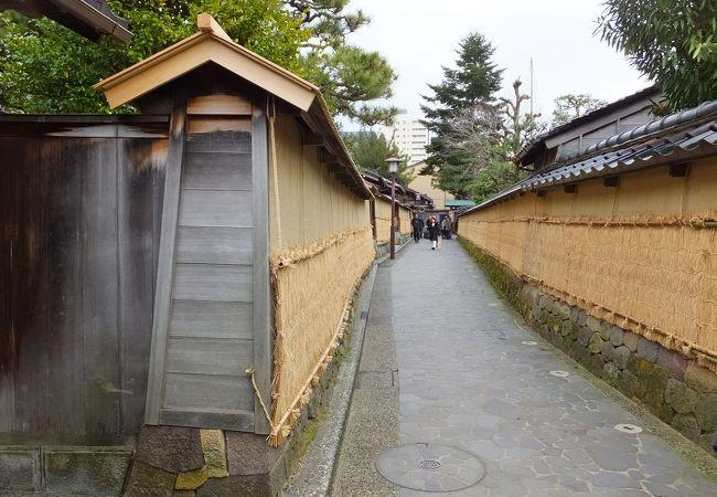 長町武家屋敷跡土塀